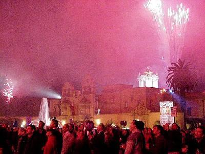 Photo Fireworks People