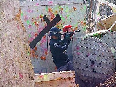 Photo Paintball 11 People