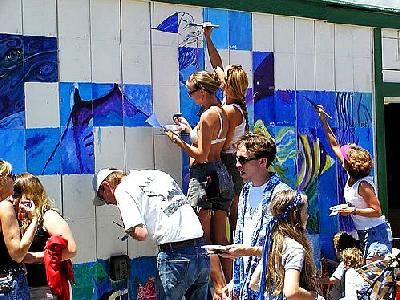 Photo Wall Painting People