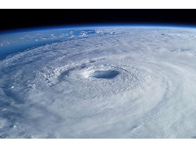 Photo Hurricane Isabel Space
