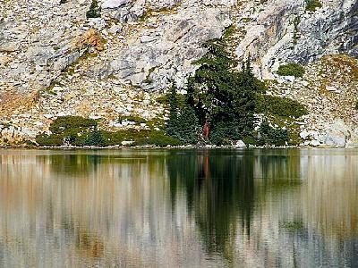 Photo May Lake Reflections Travel