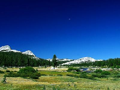 Photo Moon Over Tuolumne Meadows Travel