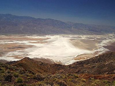 Photo Salt Flats From Dantes View Travel