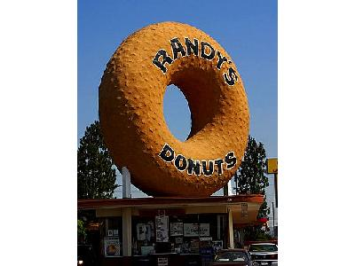 Photo Randys Donuts Sign Travel