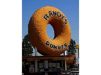 Photo Randys Donuts Sign Travel