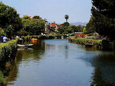 Photo Venice Beach Canals Travel