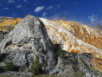 Photo Mammoth Hot Springs 5 Travel