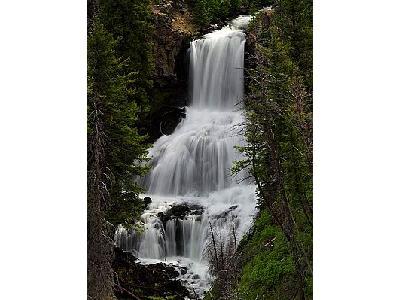 Photo Undine Falls Travel