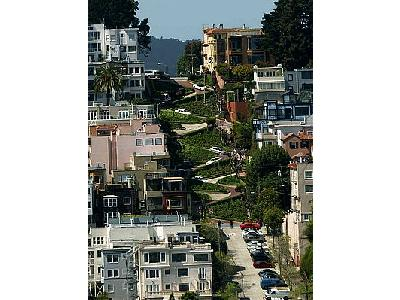 Photo Lombard Street Travel