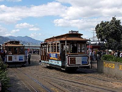 Photo San Francisco Trolley Cars Travel