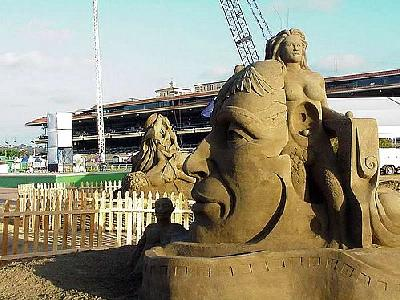 Photo Sand Sculpture Travel