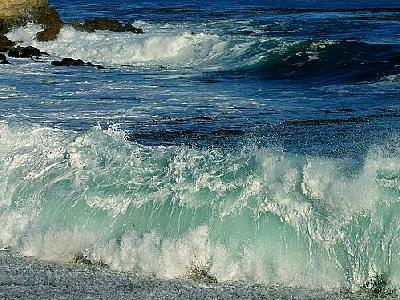 Photo Waves Crashing Travel