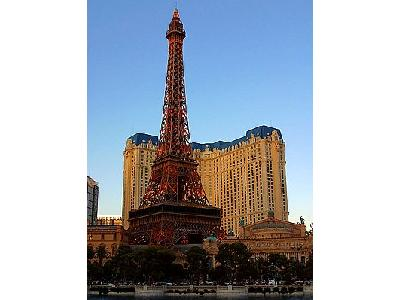 Photo The Eiffel Tower In Vegas Travel
