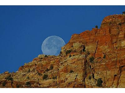 Photo Moon Rising Travel