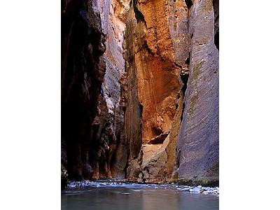 Photo Zion Narrows Wall Street Travel