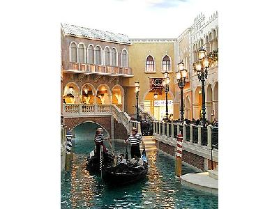 Photo Venetian Casino Canals Travel