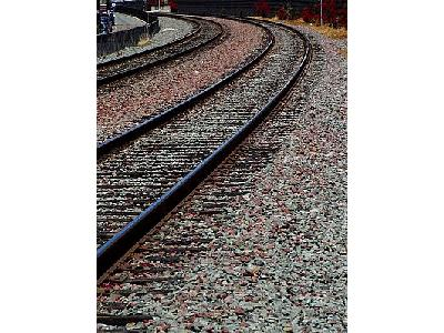 Photo Railroad Tracks Other