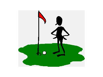 Logo Sports Golf 010 Animated