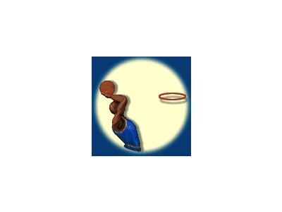 Logo Sports Basketball 004 Animated