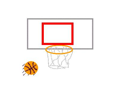 Logo Sports Basketball 003 Animated