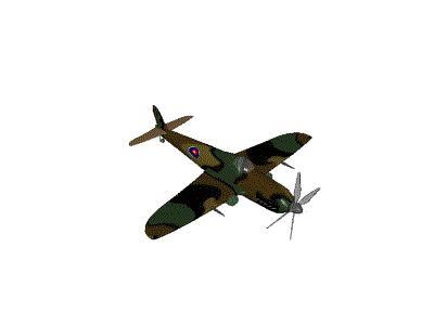 Logo Vehicles Planes 069 Animated