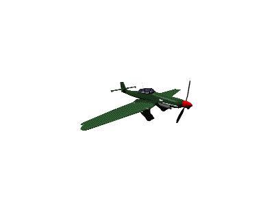 Logo Vehicles Planes 072 Animated