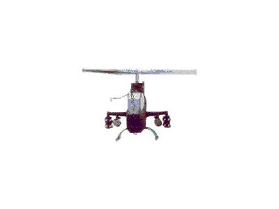 Logo Vehicles Helicopters 006 Animated