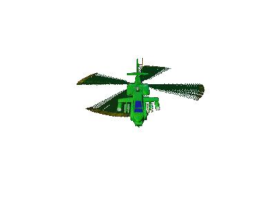 Logo Vehicles Helicopters 008 Animated