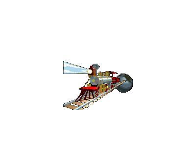 Logo Vehicles Trains 008 Animated