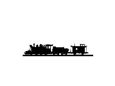 Logo Vehicles Trains 017 Animated