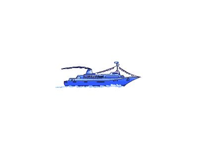 Logo Vehicles Boats 020 Animated