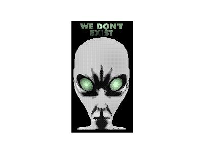 Logo Scifi Aliens 007 Animated