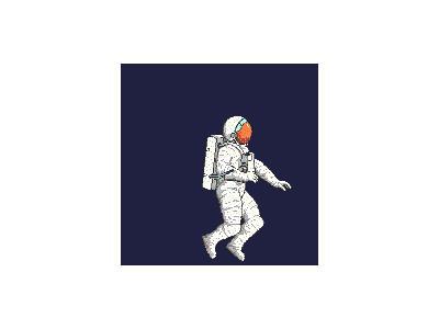 Logo Skyspace Astronauts 009 Animated