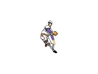 Logo Sports Baseball 018 Color