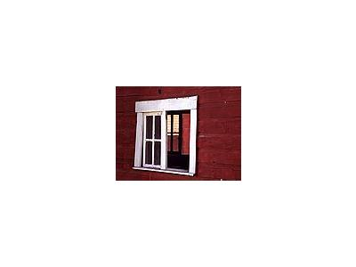 Photo Small Barn Window Building