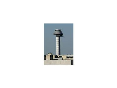 Photo Small Airfield Control Tower 2 Building