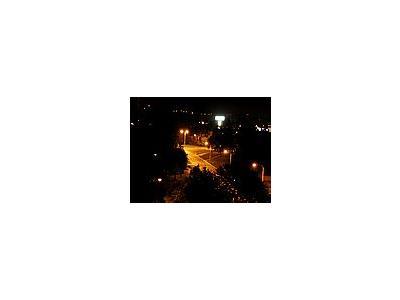Photo Small Night City City