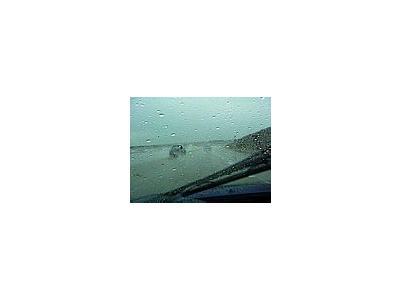 Photo Small Rain Road City