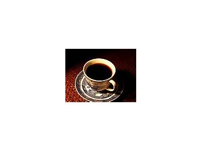 Photo Small Cup Of Coffee Drink