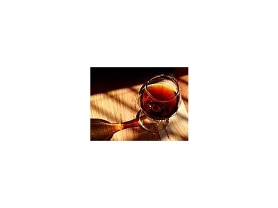 Photo Small Glass Of Port Drink