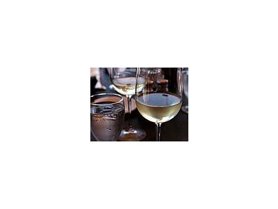 Photo Small White Wine Glass Drink