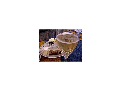 Photo Small Wine Glass Plate Drink