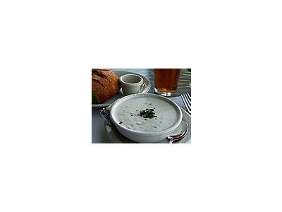 Photo Small Clam Chowder Food