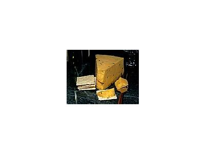Photo Small Cotswold Double Gloucester Cheese Food