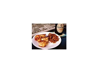 Photo Small Food Plate Guinness Food