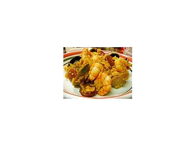 Photo Small Food Shrimp Food