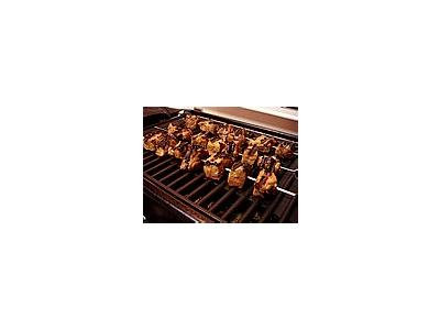 Photo Small Grilling Beef Food