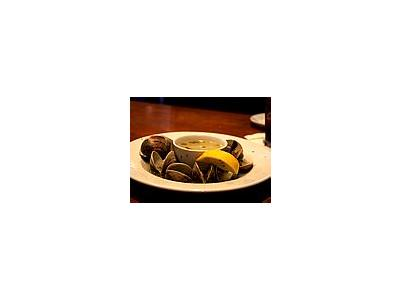 Photo Small Steamed Clams Food