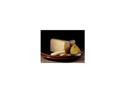 Photo Small Tilsit Cheese Food