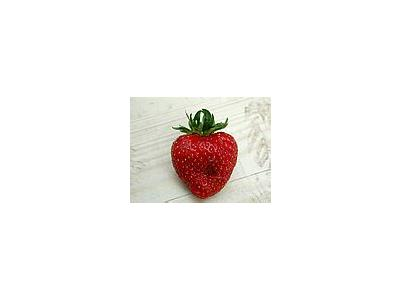 Photo Small Strawberry Glass 1 Food